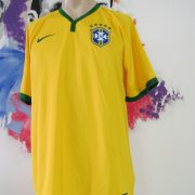 Brazil 2014 2015 home shirt Nike soccer jersey World Cup 2014 size L Brasil (1)