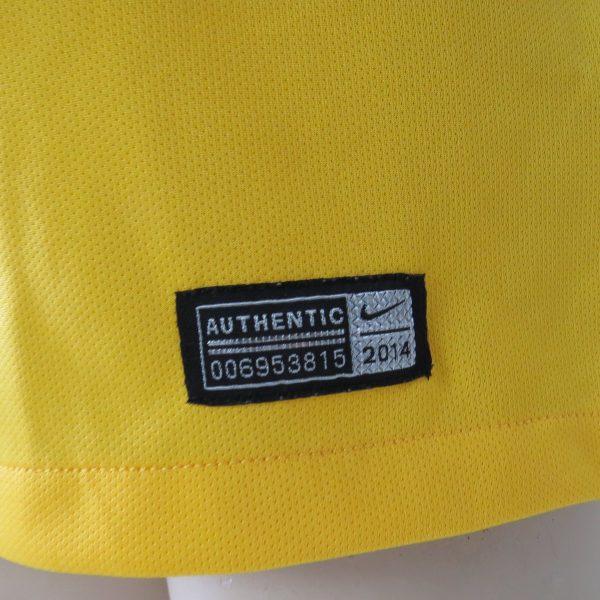 Brazil 2014 2015 home shirt Nike soccer jersey World Cup 2014 size L Brasil (2)