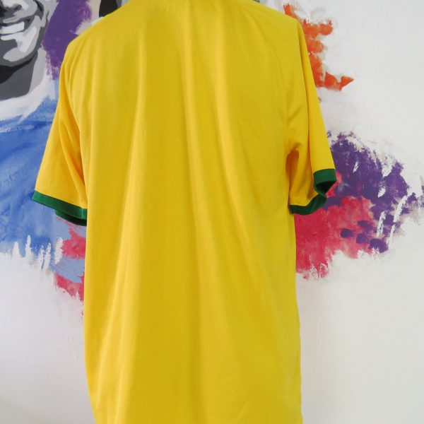 Brazil 2014 2015 home shirt Nike soccer jersey World Cup 2014 size L Brasil (7)