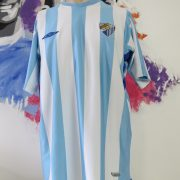 Malaga 2009 2010 2011 home shirt camiseta Umbro soccer jersey size XL (1)