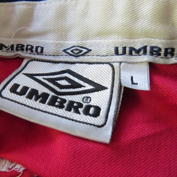 Vintage Chile 2000 2001 2002 home shirt Umbro soccer jersey size L (3)