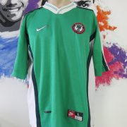 Vintage Nigeria 1998-00 home shirt Nike soccer jersey size L World Cup 98 (1)
