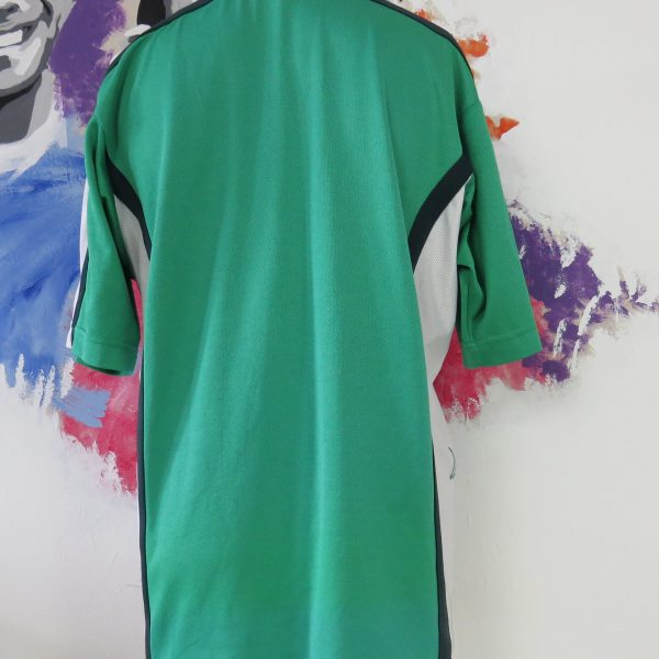 Vintage Nigeria 1998-00 home shirt Nike soccer jersey size L World Cup 98 (2)