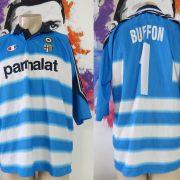 Vintage Parma 1999-00 Goal Keeper shirt #1 Buffon Champion jersey size XL (1)
