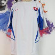 Vintage Slovakia 2002 2003 2004 away shirt Nike soccer jersey size L (1)