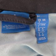 Adidas originals blue retro 1980ies style women's tracksuit size S EU36 UK8 (3)