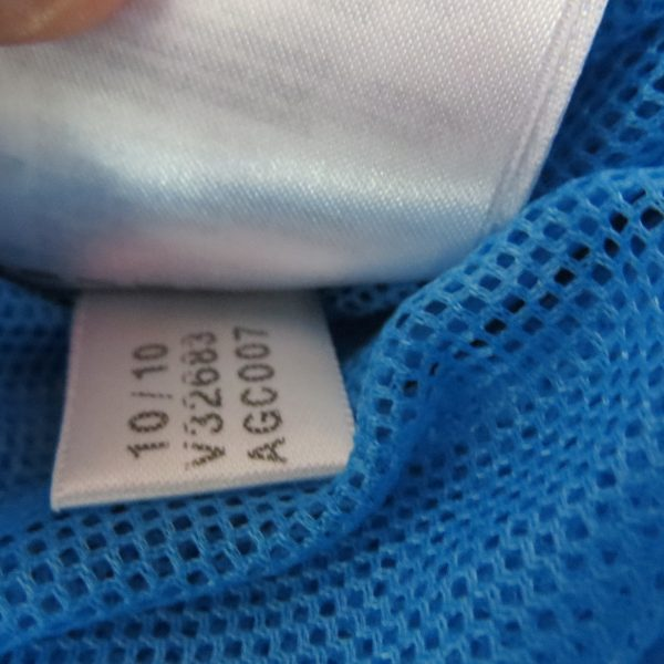 Adidas originals blue yellow women's tracksuit jacket hooded size UK 10 EU 36 (6)