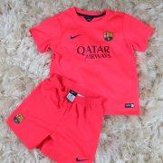 Barcelona 2014 2015 away kit shirt shorts Nike size 110-116 5-6 Years Barca (6)