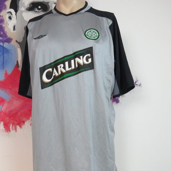 Celtic 2003-04 goal keeper shirt UMBRO soccer jersey size L (1)
