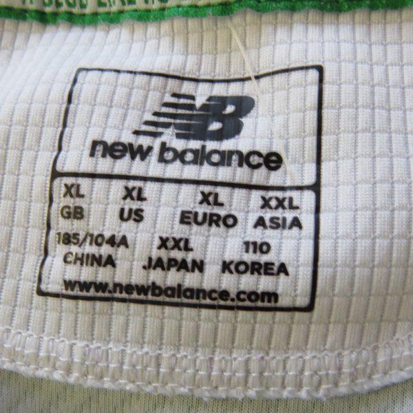 Celtic 2015-16 home shirt New Balance soccer jersey size XL hoops green white (2)