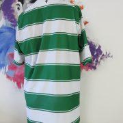 Celtic 2015-16 home shirt New Balance soccer jersey size XL hoops green white (5)