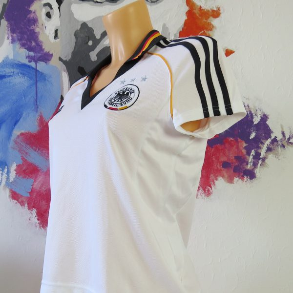 Germany 2004 womens shirt adidas Deutschland #13 trikot size UK14 M EU42 (2)