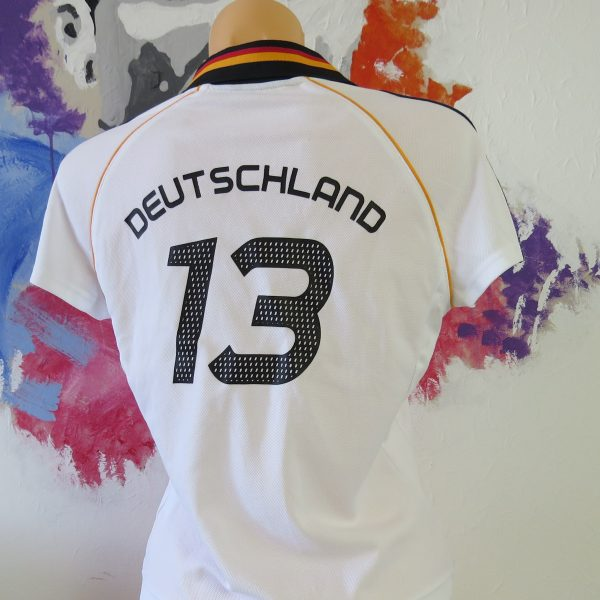 Germany 2004 womens shirt adidas Deutschland #13 trikot size UK14 M EU42 (5)