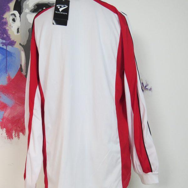 Rucanor white red football shirt soccer jersey sport long sleeve XL BNWT (2)