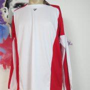Rucanor white red football shirt soccer jersey sport long sleeve XL BNWT (3)