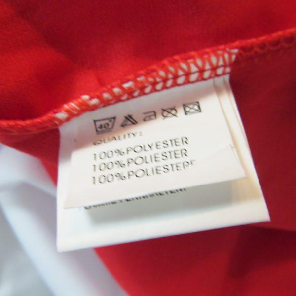 Rucanor white red football shirt soccer jersey sport long sleeve XL BNWT (4)