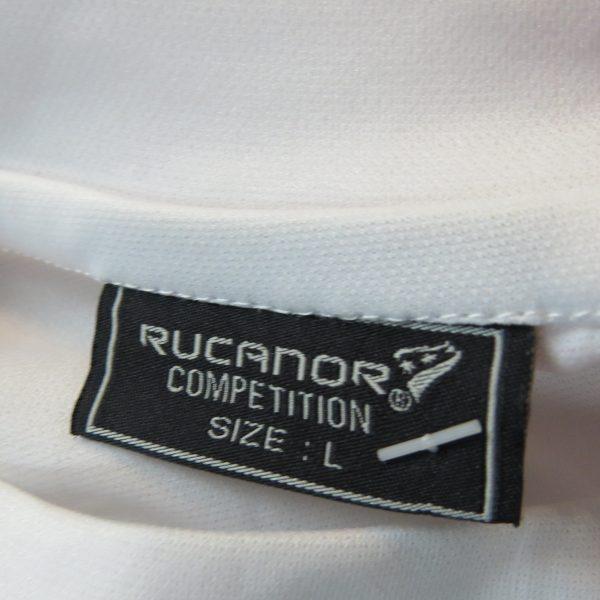 Rucanor white red football shirt soccer jersey sport long sleeve XL BNWT