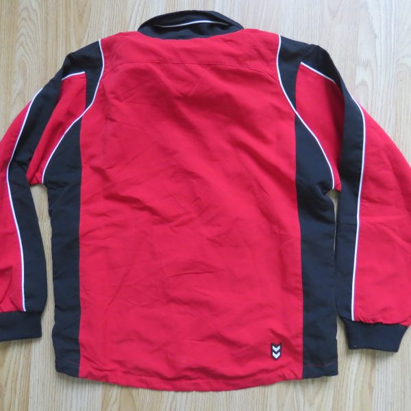 SportDirect Argentina Micro Suit red tracksuit jacket size boys L 152cm 12Y (1)