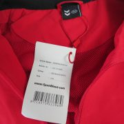 SportDirect Argentina Micro Suit red tracksuit jacket size boys L 152cm 12Y (2)