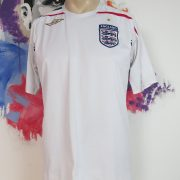 Vintage England 2007-09 home shirt Umbro soccer jersey three lions size M (1)