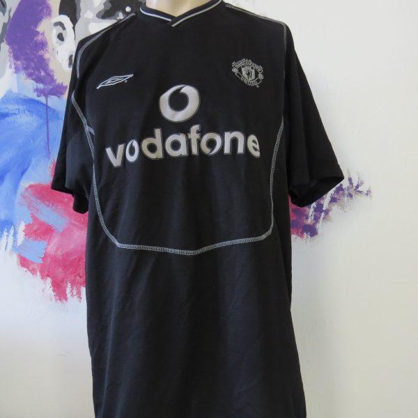 Vintage Manchester United 2000 2001 2002 keeper shirt Umbro jersey size L (1)