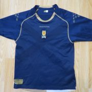 Vintage Scotland 2007 2008 home shirt diadora jersey size boys L 1112Y (1)