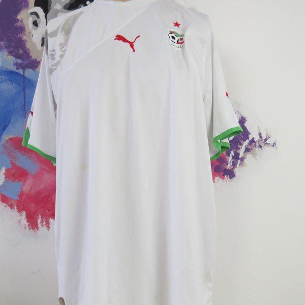 Algeria 2010 2011 home shirt Puma soccer jersey Bel Hadj #3 size XXL (1)