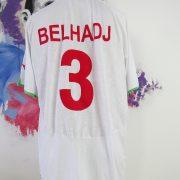 Algeria 2010 2011 home shirt Puma soccer jersey Bel Hadj #3 size XXL (4)