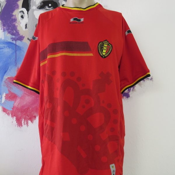 Belgium 2012-13 home shirt Burrda soccer jersey Belgique Belgie size 3XL (1)