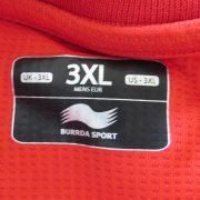 Belgium 2012-13 home shirt Burrda soccer jersey Belgique Belgie size 3XL (3)