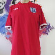 England 2010 2011 2012 away shirt Umbro soccer jersey size 42 L (1)