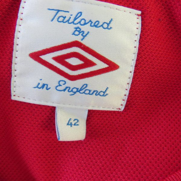 England 2010 2011 2012 away shirt Umbro soccer jersey size 42 L (2)