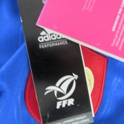 France Rugby World Cup 2015 home shirt adidas Jersey Maillot Size S BNWT (4)