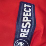 Match worn Albania EURO2012 qualifier shirt Odise Roshi 22 v France 71011 (5)