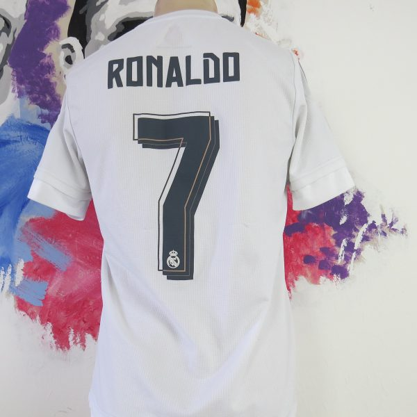 huge discount e119d 394d6 Real Madrid 2015 2016 CL home shirt adidas soccer jersey Ronaldo #7 size S