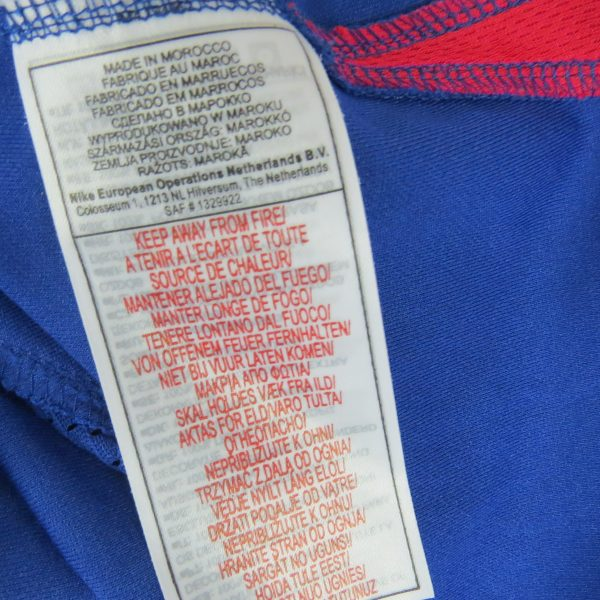 Valerenga 2006 2007 player issue home shirt Nike soccer jersey size XXL (4)