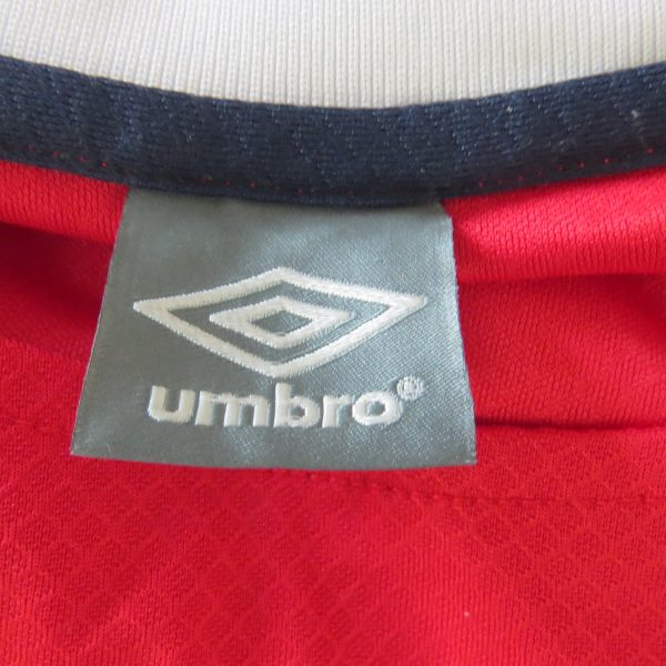 Vintage Norway 2011 2012 home shirt Umbro soccer jersey size XL (3)