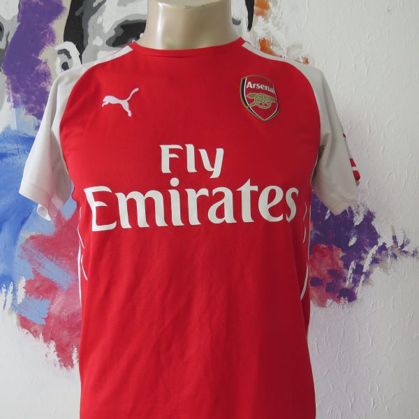 Arsenal 2014 2015 home shirt Puma soccer jersey size YXL 164 14Y Gunners (1)
