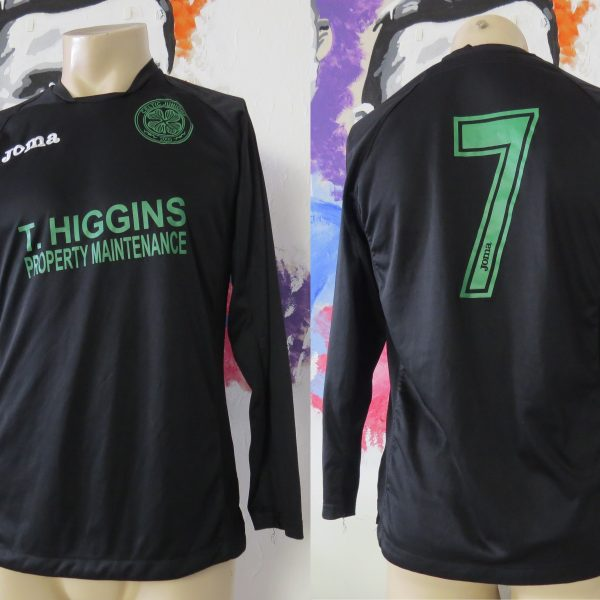 Celtic Juniors Academy away shirt JOMA soccer jersey #7 size S (1)