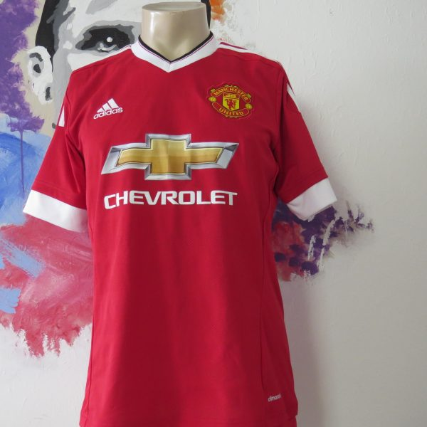 Manchester United 2015 2016 home football shirt adidas Best #7 size M (1)