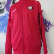 Partick Thistle red training jacket Partick Weir Youth Academy Joma jersey size L (1)
