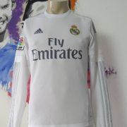 Real Madrid 2015 2016 LFP ls home football shirt adidas Kroos #8 size S (2)