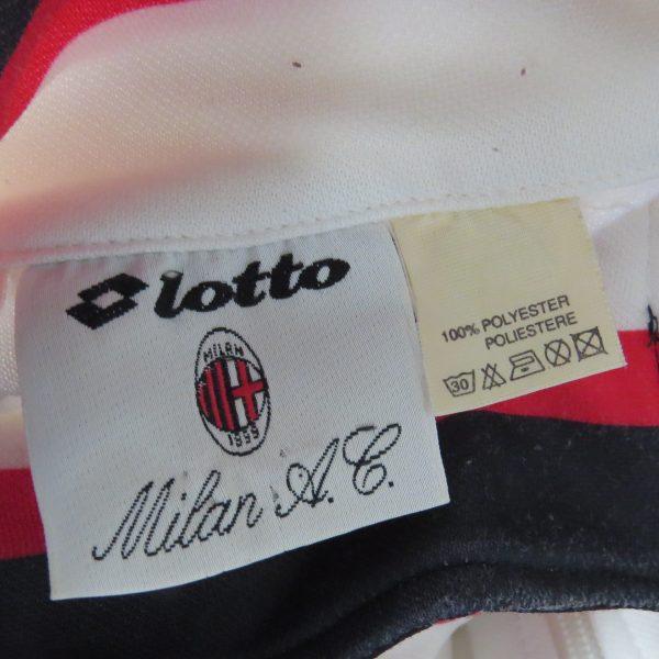 Vintage AC Milan 1993 1994 track jacket Lotto Motta size L (3)