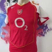 Vintage Arsenal 2004 2005 home shirt Nike soccer jersey size Boys L 152-158cm (1)