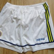 Vintage Fenerbahce 1997 1998 home lined shorts adidas size 36 L (1)