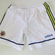 Vintage Fenerbahce 1997 1998 home lined shorts adidas size 36 L (4)
