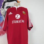 British Lions jersey adidas Rugby Union shirt New Zealand 2005 size XL (1)