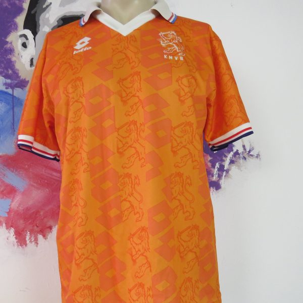 Holland World Cup 1994 home shirt size M pit to pit 22inch (1)