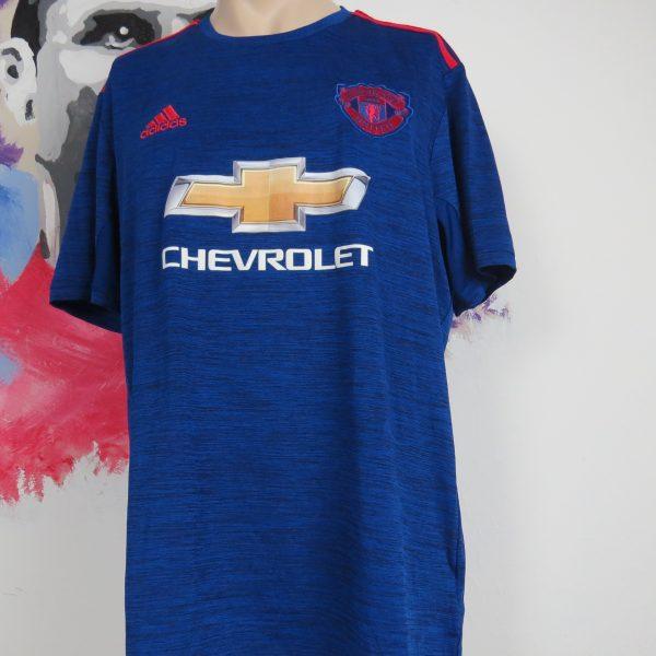 Manchester United 2016 2017 away shirt adidas soccer jersey size XL (1)