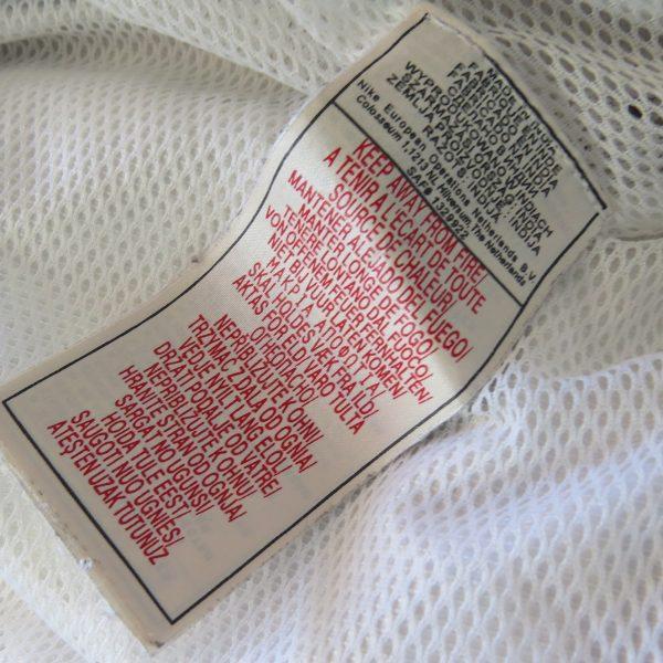 Vintage Juventus white training jacket Nike size XL (3)